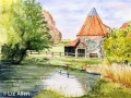 """""""Preston Mill"""" by Liz Allen"""