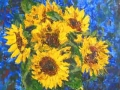 """Sunflowers"" by Margaret Hall"