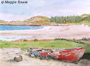 """Mellon Udrigle Beach"" by Maggie Bowie"